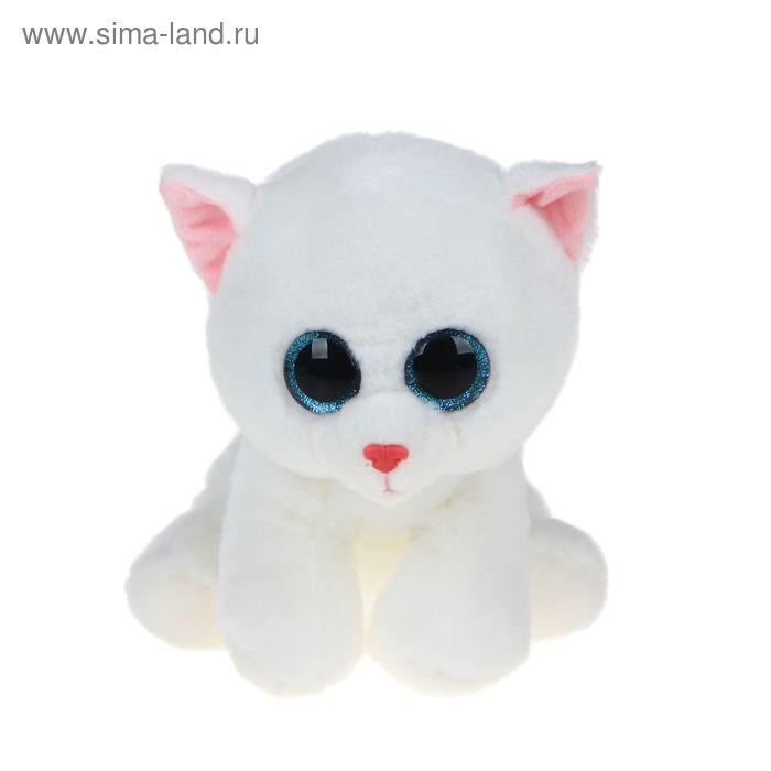 Мягкая игрушка «Кошка Pearl», цвет белый