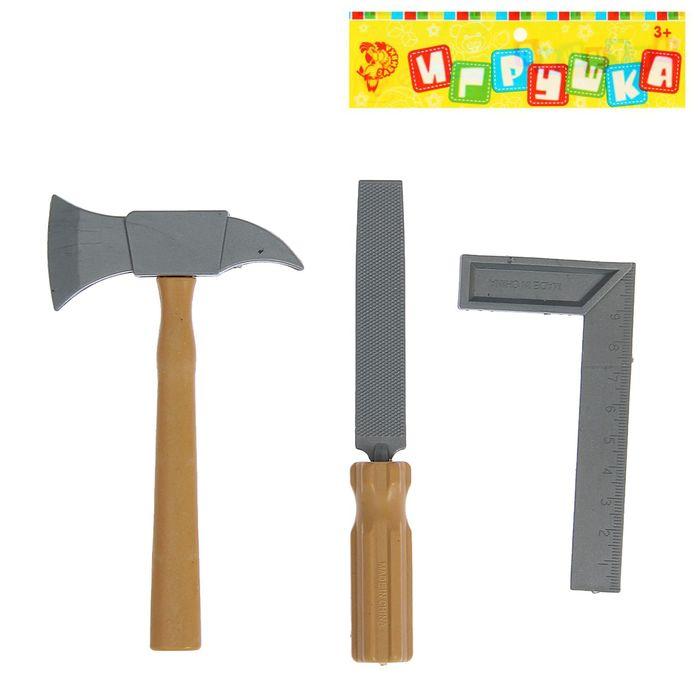 Набор инструментов «Юный мастер», 3 элемента, МИКС