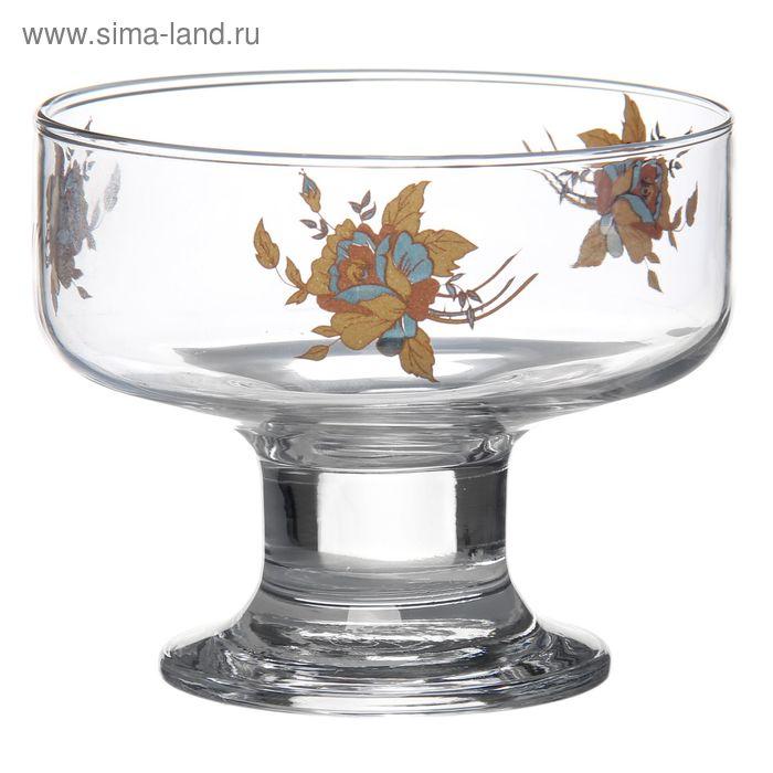 "Креманка 250 мл ""Золотая роза"""