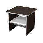 Стол журнальный, венге/серый