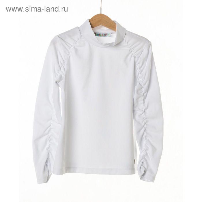 Джемпер-водолазка для девочки, рост 134 см, цвет белый SC16-13-08-112