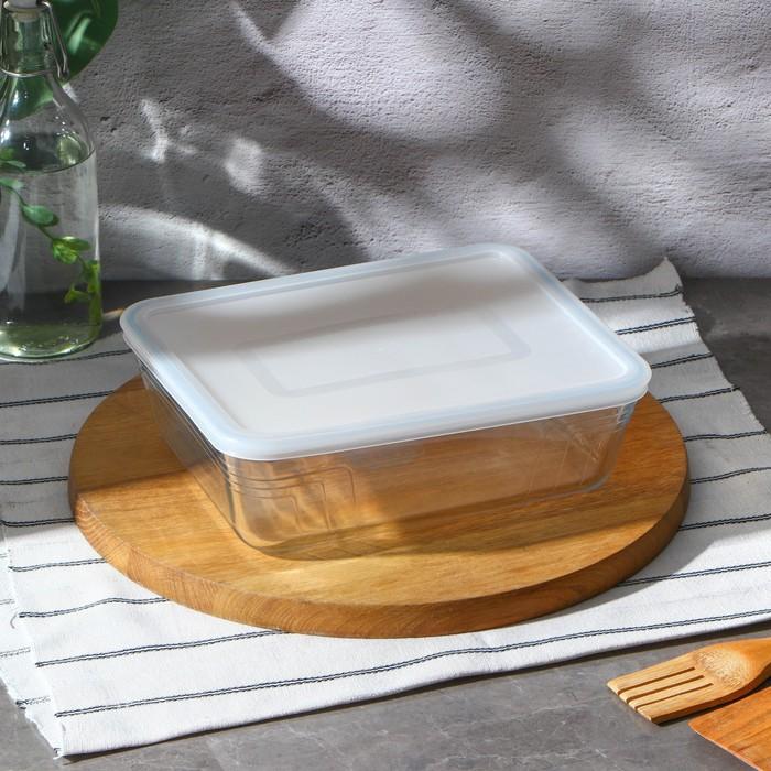 Форма для запекания прямоугольная 2,6 л Pyrex Cook&Store 25х20 см, с крышкой