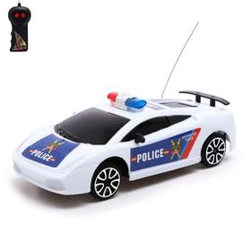 """Машина радиоуправляемая """"Полицейский патруль"""", работает от батареек"""
