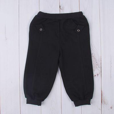 Брюки для мальчика, рост 68 см (44), цвет чёрный (арт. Д 07214_М)