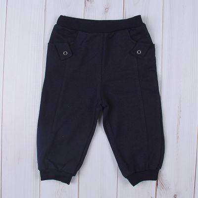 Брюки для мальчика, рост 68 см (44), цвет тёмно-синий (арт. Д 07214_М)
