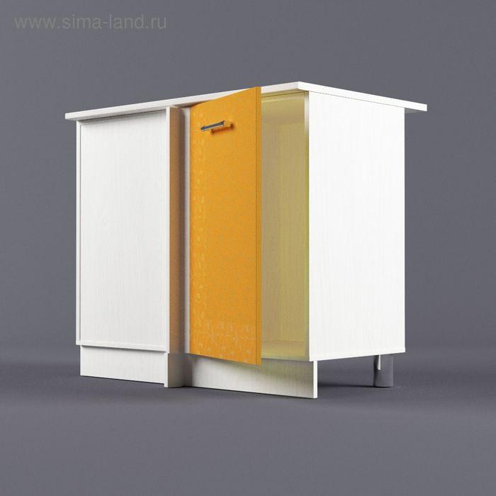 Шкаф напольный угловой левый 850*1000*600 Манго