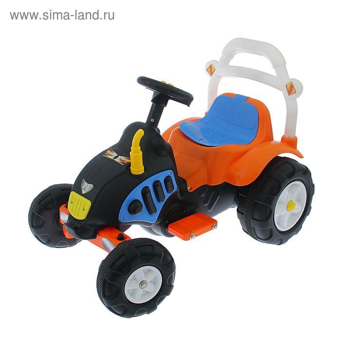 """Электромобиль """"Трактор"""", акб- 1*6V4.5AH, 1 мотор, свет и звук УЦЕНКА"""
