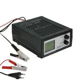"""Зарядное устройство АКБ """"Вымпел-57"""", 20 А, 7,4 - 18 В, сегментный ЖК индикатор"""