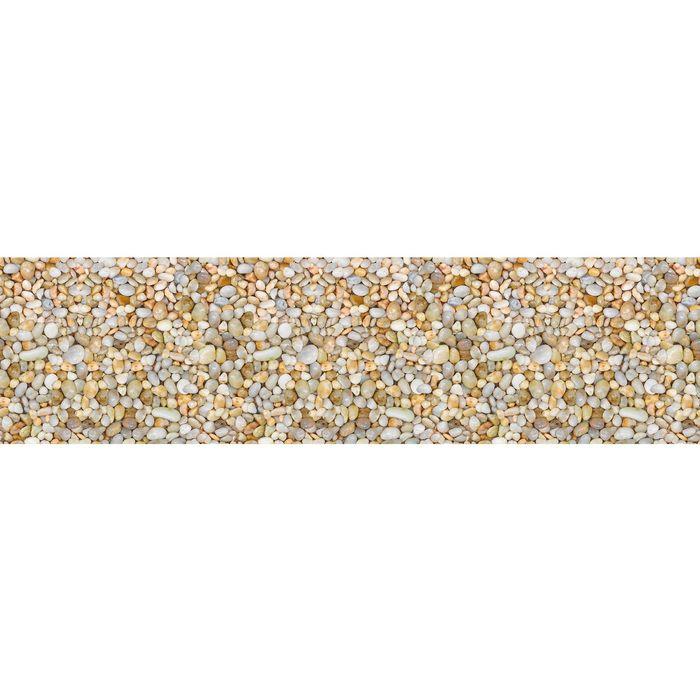 Фартук кухонный Галька 3000х600х1,5 мм АБС пластик