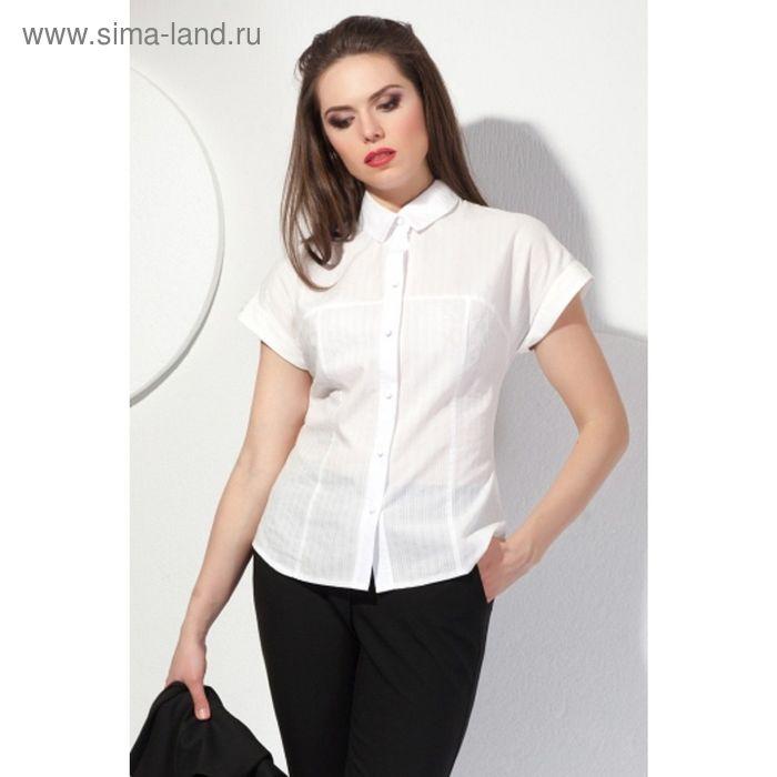 Блуза женская, размер 46, цвет молочный  Б-147