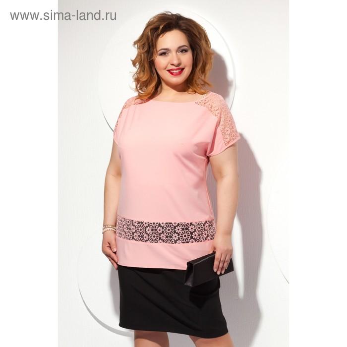 Блуза женская, размер 64, цвет мятный Б-151