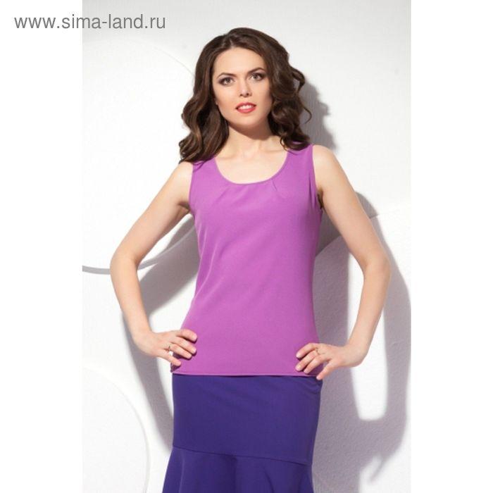 Блуза женская, размер 52, цвет сиреневый Б-150/1