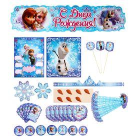 Набор для проведения дня рождения 'Волшебное приключение', Холодное сердце Ош
