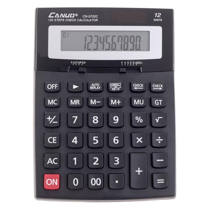 Калькулятор настольный, 12-разрядный, CN-5702C - фото 504888474