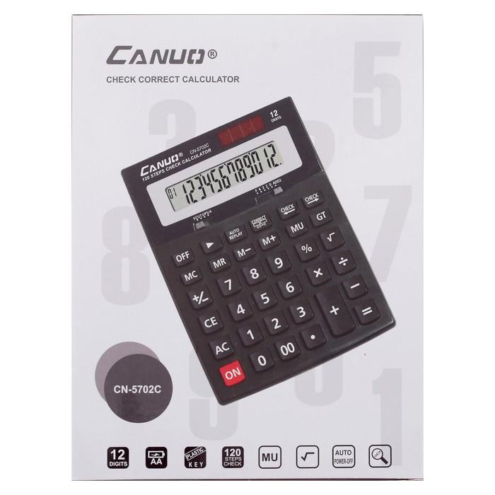 Калькулятор настольный, 12-разрядный, CN-5702C - фото 504888479