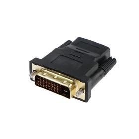 Переходник LuazON, HDMI (F) - DVI (M)