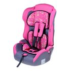 "Car seat-booster Multi, group 1-2-3, color pink ""Most beautiful"""