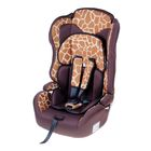 Car seat-booster Multi, group 1-2-3, color brown Giraffe
