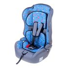 "Car seat-booster Multi, group 1-2-3, color blue ""Favorite son"""