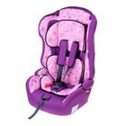 "Car seat-booster Multi, group 1-2-3, red ""Paris"""