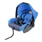 "Safe car seat, group 0+, blue ""Favorite son"""