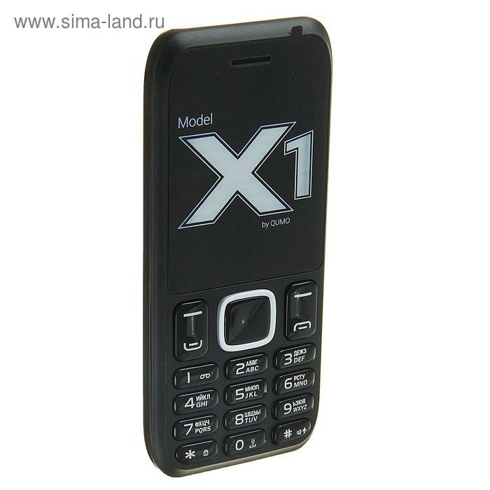 Мобильный телефон QUMO Push X1, черный