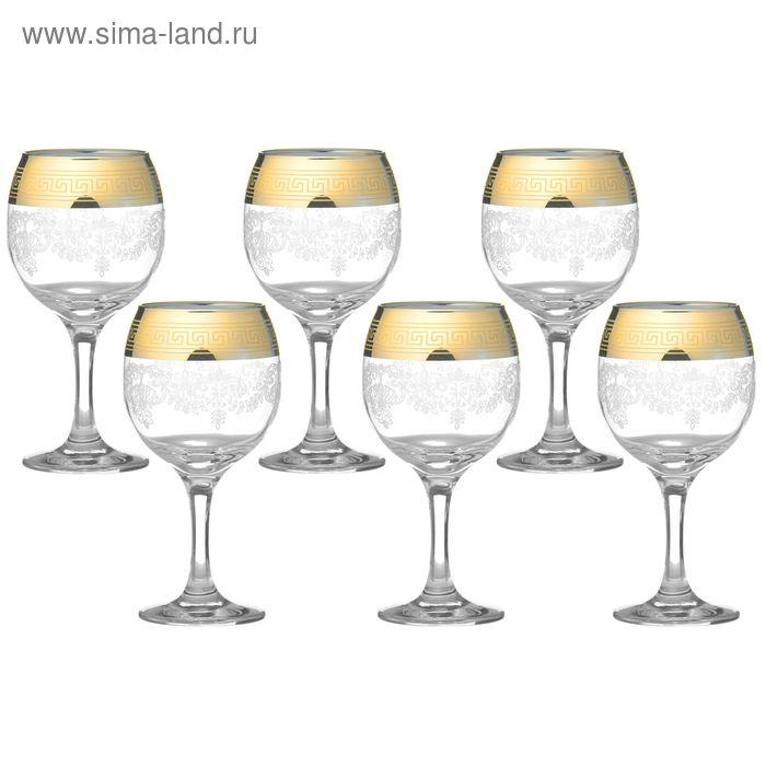 """Набор фужеров для вина 290 мл """"Барокко"""", 6 шт"""