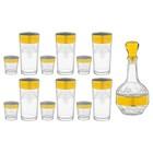 "Набор ""Барокко"", 13 предметов: графин 500 мл, 6 стаканов 200 мл, 6 стопок 50 мл"