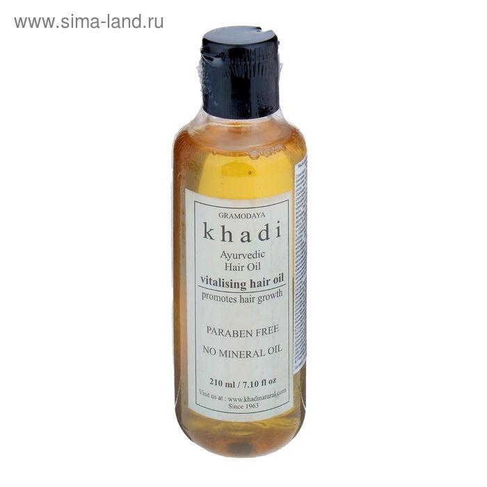 Масло для волос без СЛС Khadi Natural, витаминное, 210 мл