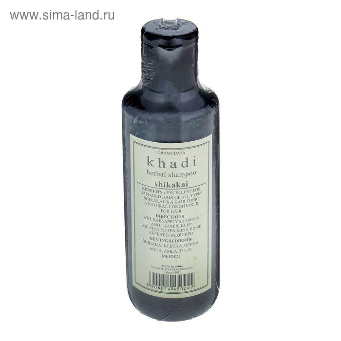 Шампунь для волос Khadi Natural шикакаи, 210 мл