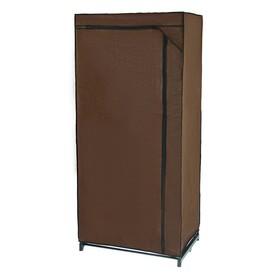Шкаф для одежды, 75×46×160 см, цвет кофейный