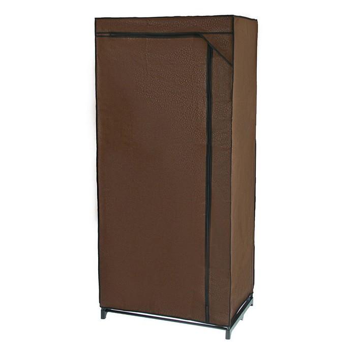 Шкаф для одежды 75×46×160 см, цвет кофейный