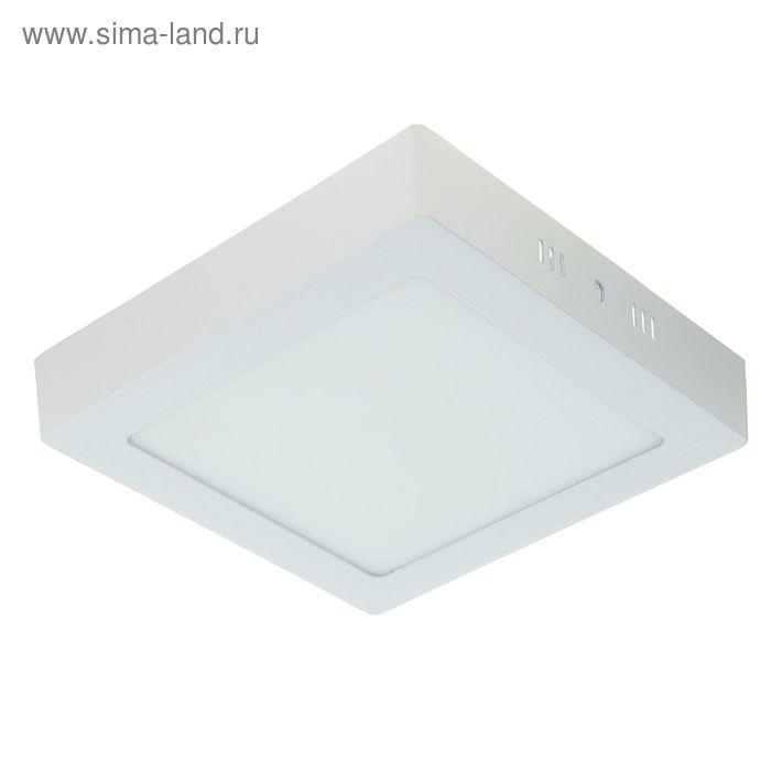 Панель квадратная накладная 170х170 мм, 12 W, LED-60-2835-840Lm-6500К-120deg-160-260V
