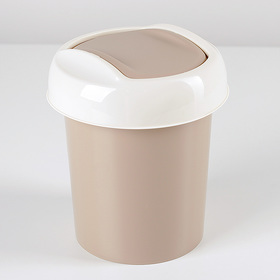 """Контейнер для мусора 1 л """"Ориджинал"""", цвет МИКС"""