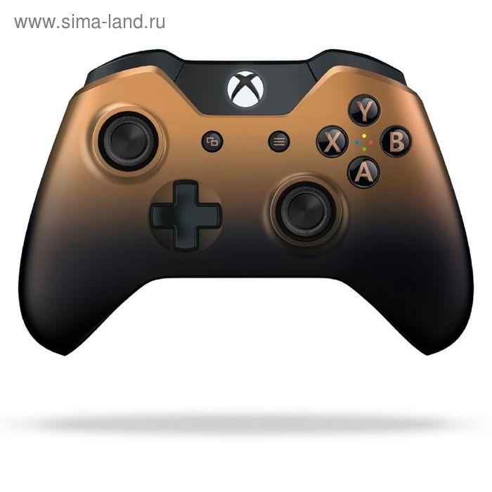 Геймпад Microsoft Xbox One Copper Shadow, беспроводной