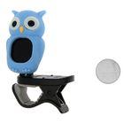 FLIGHT OWL BLUE тюнер хроматический, сова, цвет голубой