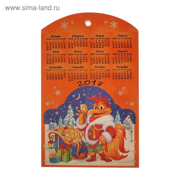Доска сувенирная фанера 250*400 символ года