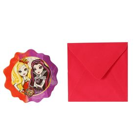 Ever After High Invitations (6 Pack) / Ever After High