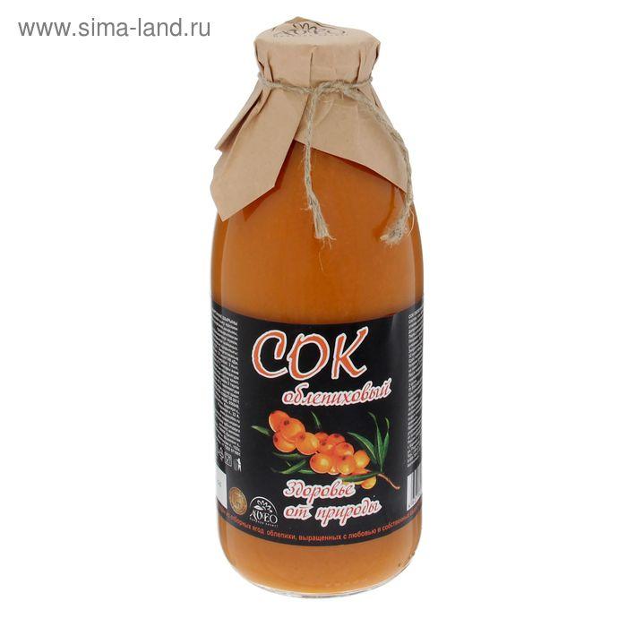 """Сок облепиховый ТМ """"Витамин продукт"""", 750 мл"""