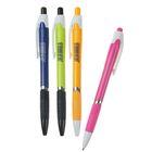 Ручка шариковая, 0.5 мм, автоматическая, Vinson «Стиль», корпус с резиновым держателем, стержень масляный синий, МИКС