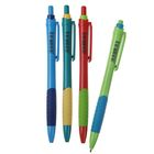 Ручка шариковая авт 0,5мм Vinson Fine корпус МИКС с резин держ стержень масляный синий