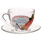 Чайная пара «Самая прекрасная», 210 мл