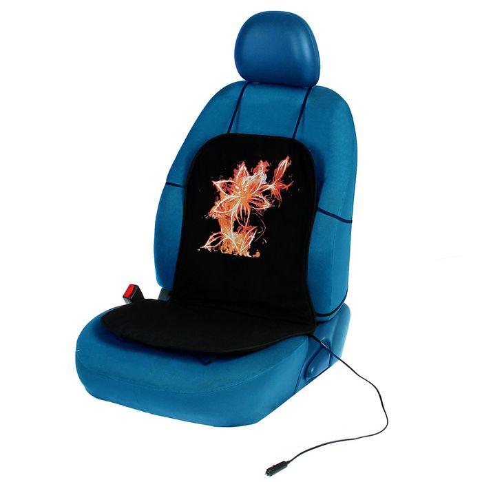 "Подогрев сидений TORSO ""Огненный цветок"", без регулятора, хлопок"