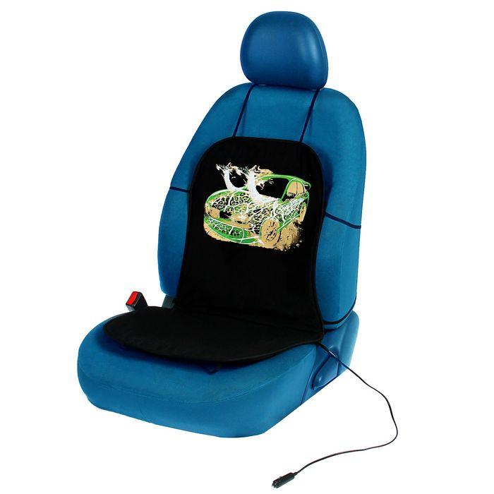"""Подогрев сидений TORSO """"Зеленое безумие"""", без регулятора, хлопок"""