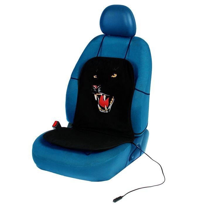 """Подогрев сидений TORSO """"Черная пантера"""", без регулятора, хлопок"""