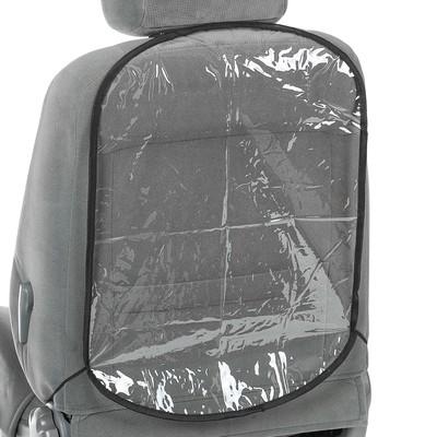 "Накидка-незапинайка ""Мягкое стекло"", прозрачная, 60х40 см"