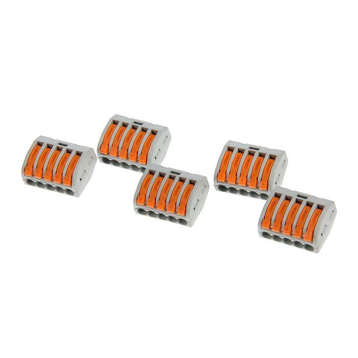 Соединительная клемма TDM СК-415, 2.5 мм2, в упаковке 5 шт, SQ0527-0013