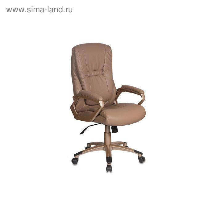 Кресло руководителя CH-875C/Mocca мокко, искусственная кожа