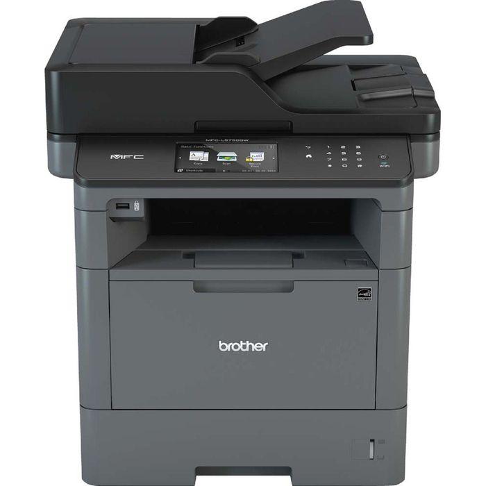 МФУ, лазерная черно-белая печать Brother MFC-L5750DW, А4, Duplex, WiFi