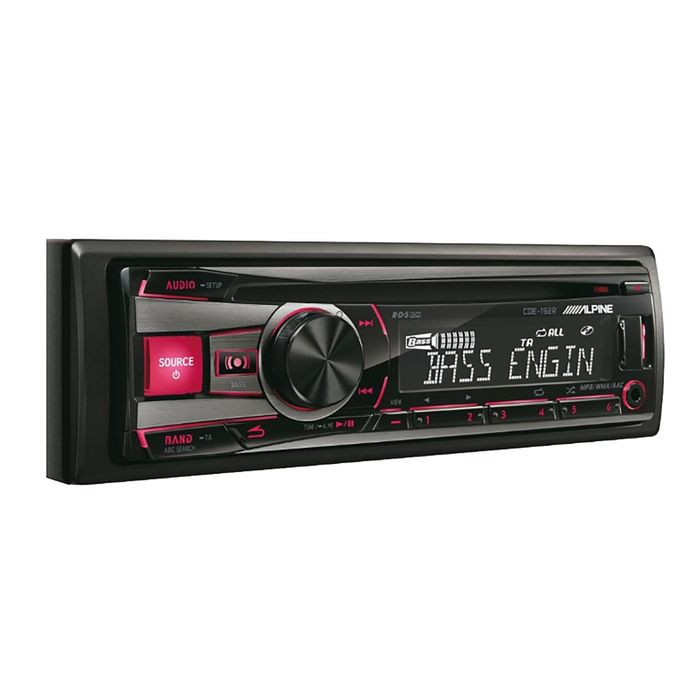 Автомагнитола CD Alpine CDE-192R 1DIN 4x50Вт